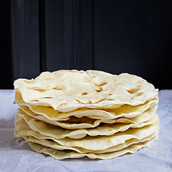 Homemade Flour Tortillas 自製墨西哥捲餅皮