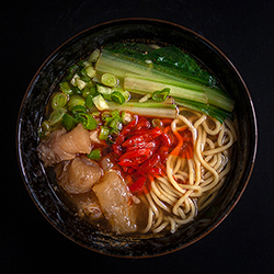 Taiwanese Beef Noodle Soup (adapted version) 紅燒牛肉麵(修改版)